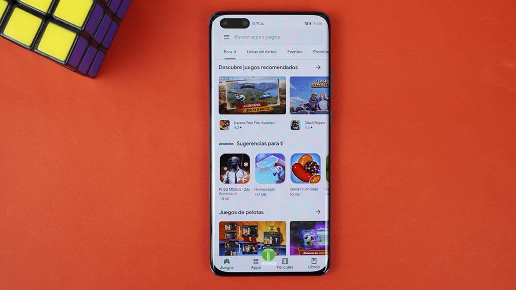 instala Google Play en Huawei P40 Pro
