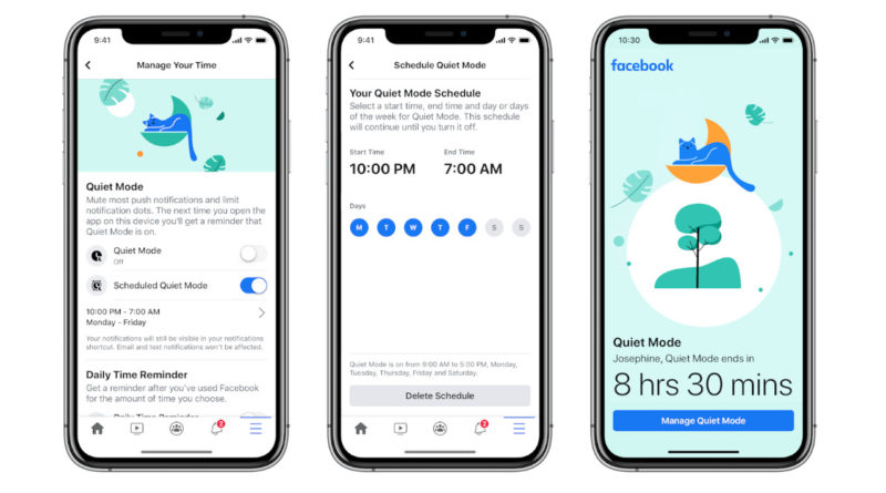Quiet Mode de Facebook: Desconectate un momento de la red