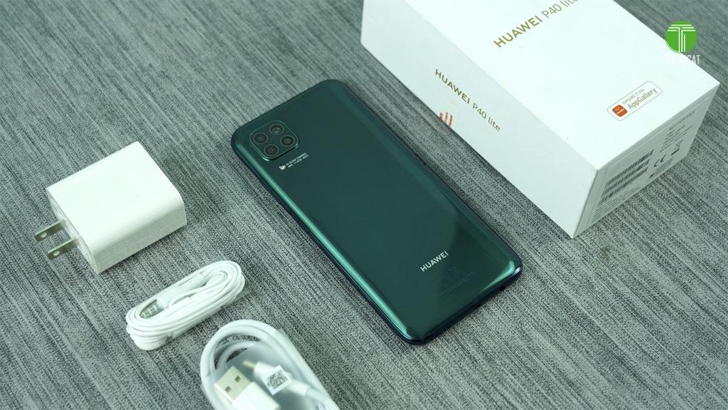 Unboxing Huawei P40 lite