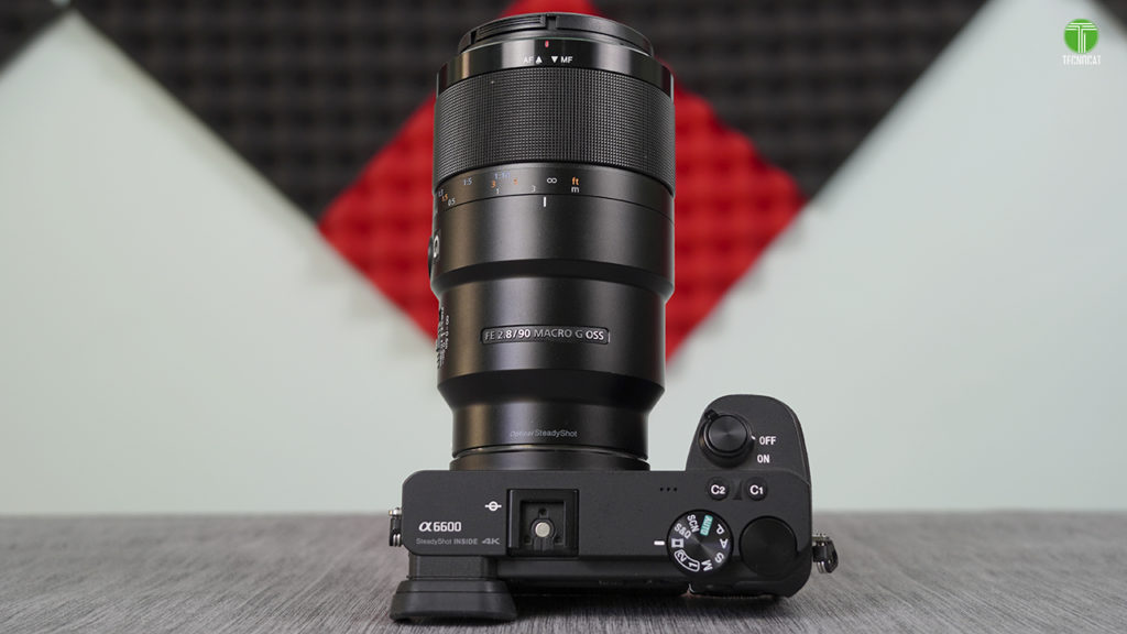 sony alpha a6000+ lente sony 90 mm macro