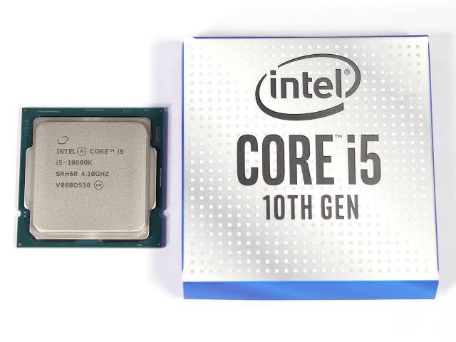 Intel i5 de 10th