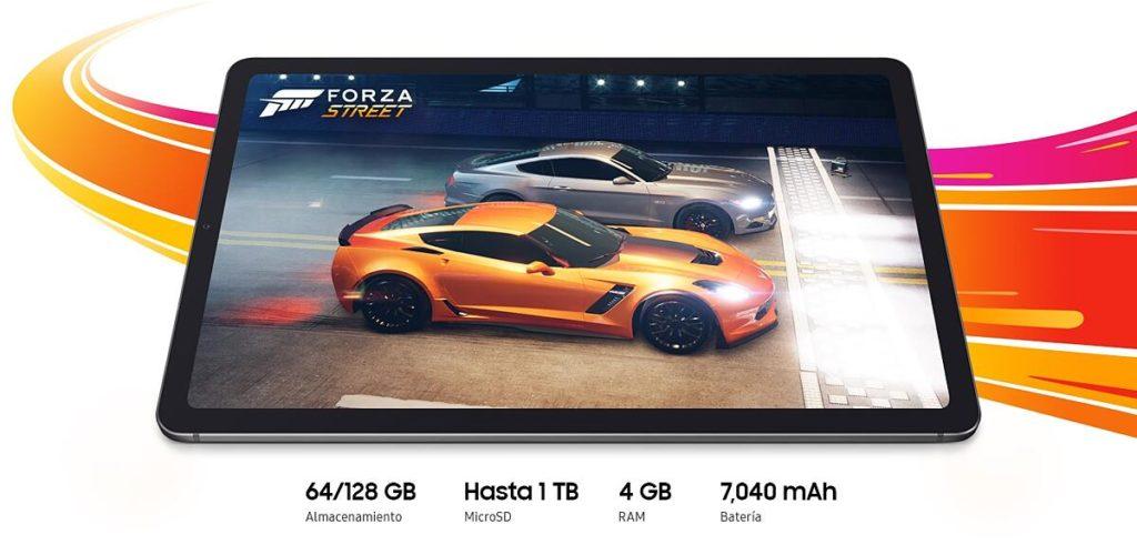 Características generales Galaxy Tab S6 Lite