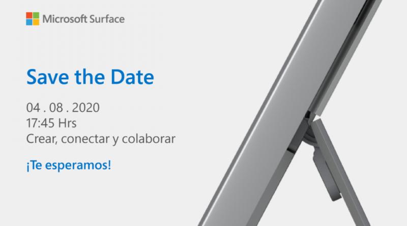 Microsoft Surface evento