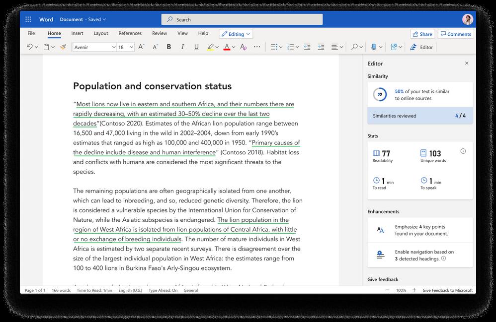 Microsoft Word editor de textos