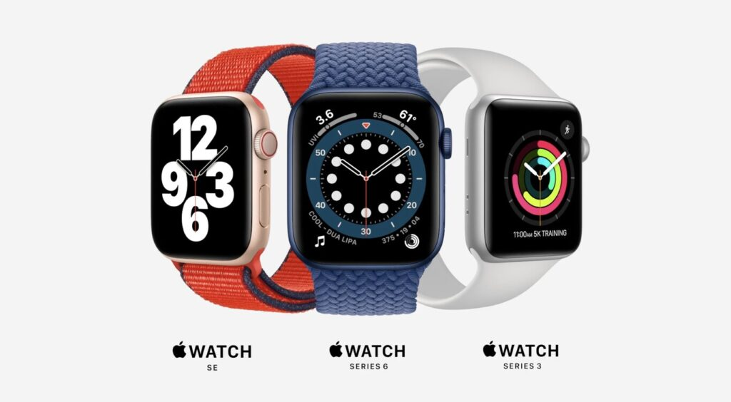 Apple Watch en el Time Flies
