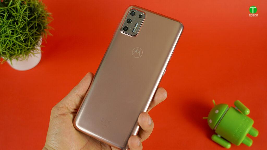 Diseño Moto G9 Plus