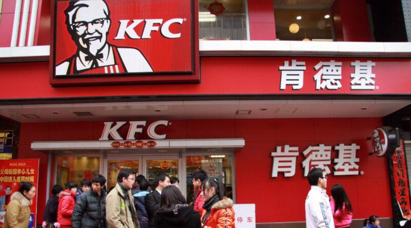 KFC + 5G + coches autónomos. Así se vende pollito en China