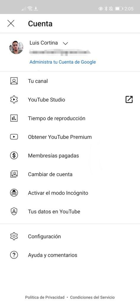 Paso 2 YouTube