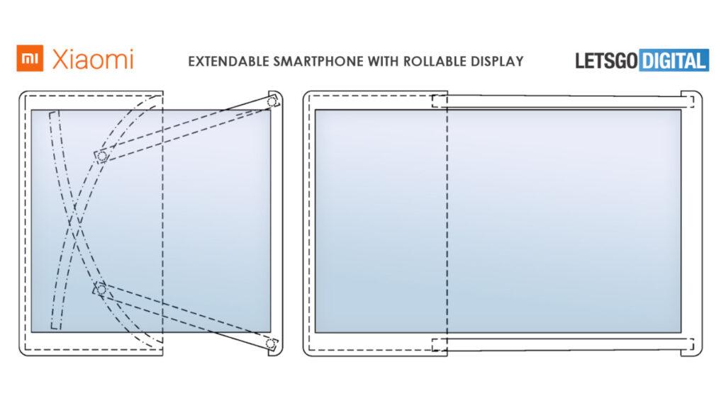 Mi Alpha R: Pantalla enrollable en la nueva patente de Xiaomi