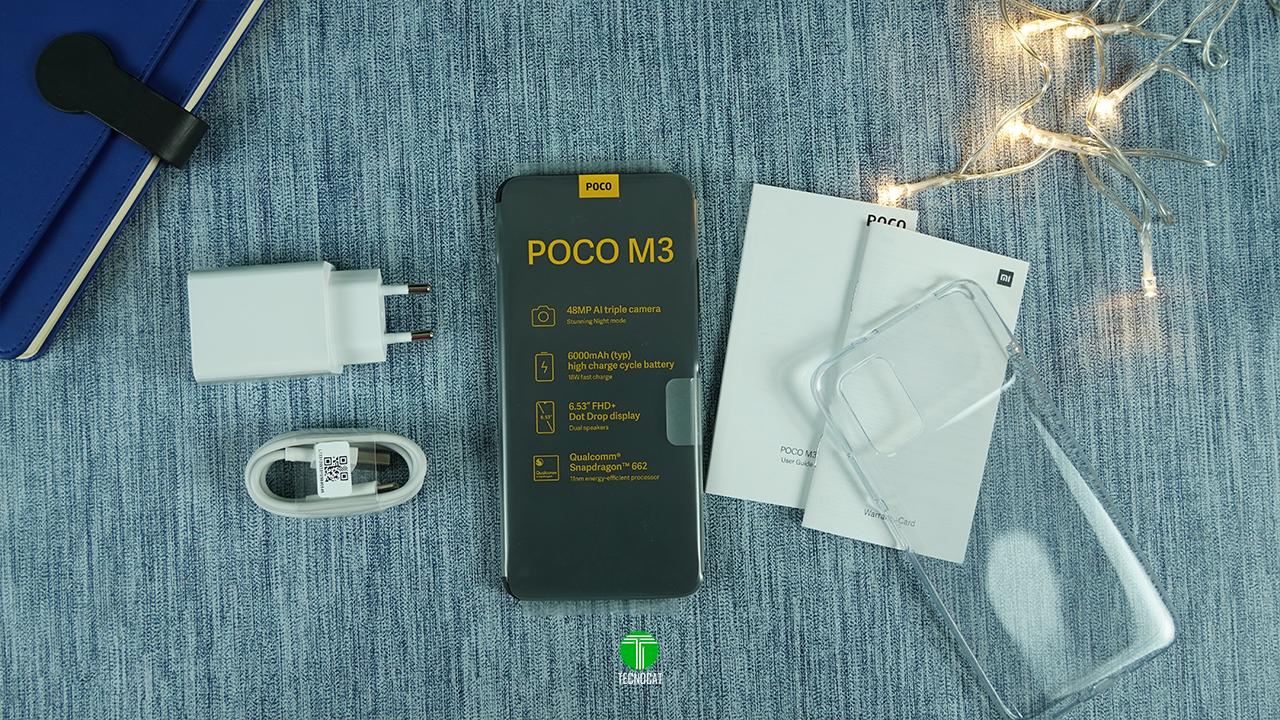Unboxing POCO M3