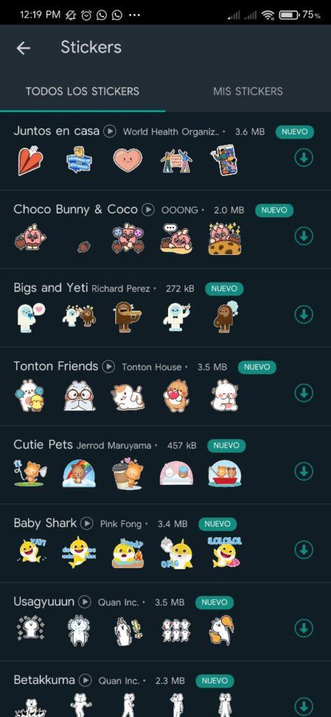 Actualización de WhatsApp: Nuevos fondos de chat y más.