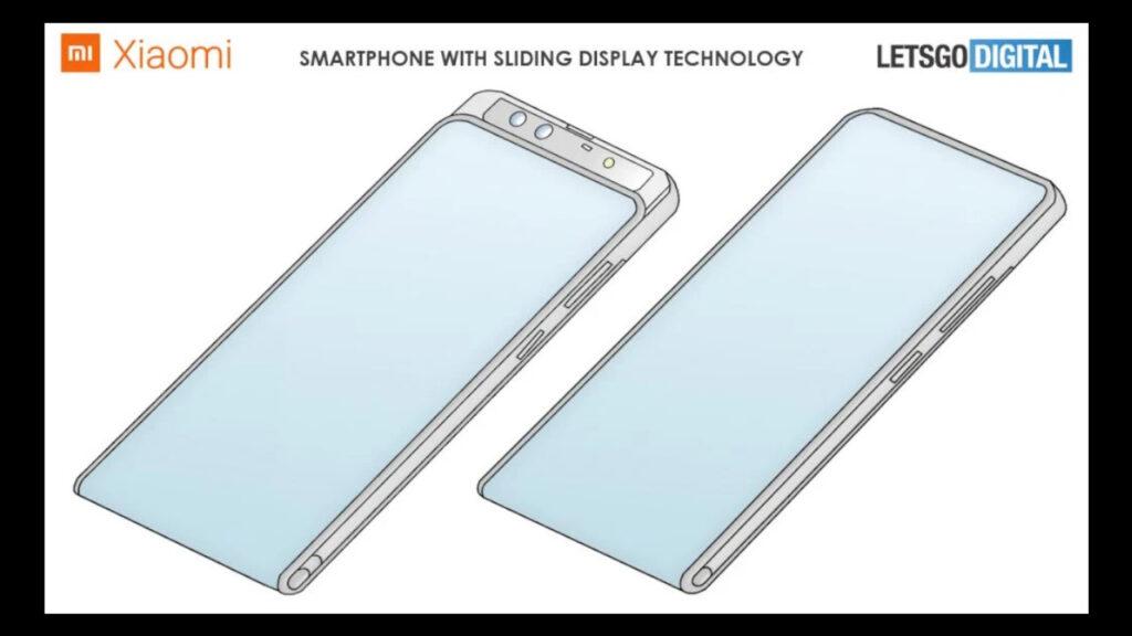 Una idea más de Xiaomi de pantalla deslizable