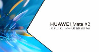 Huawei Mate X2 lanzamiento