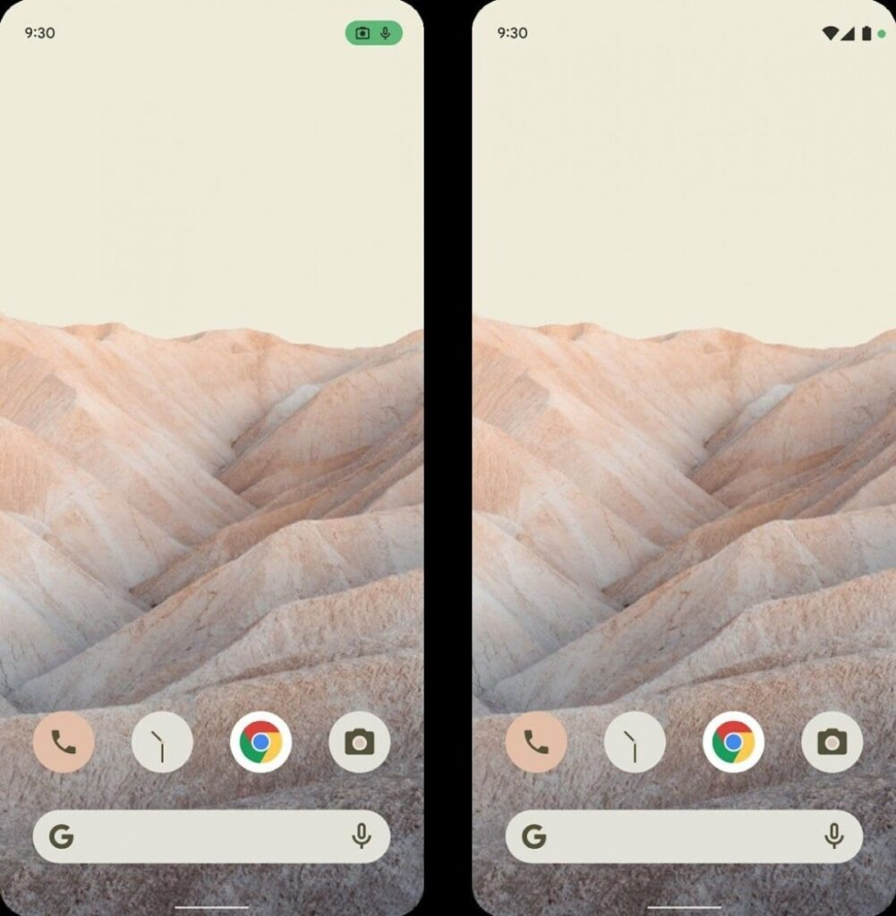 Interfaz Android 12