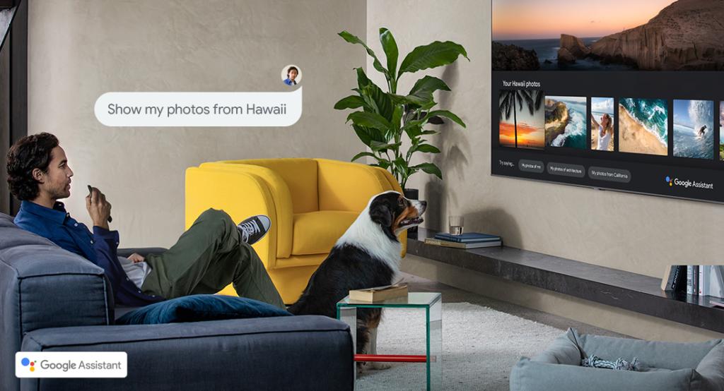 Asistente de voz para escoger en las Samsung Smart TV