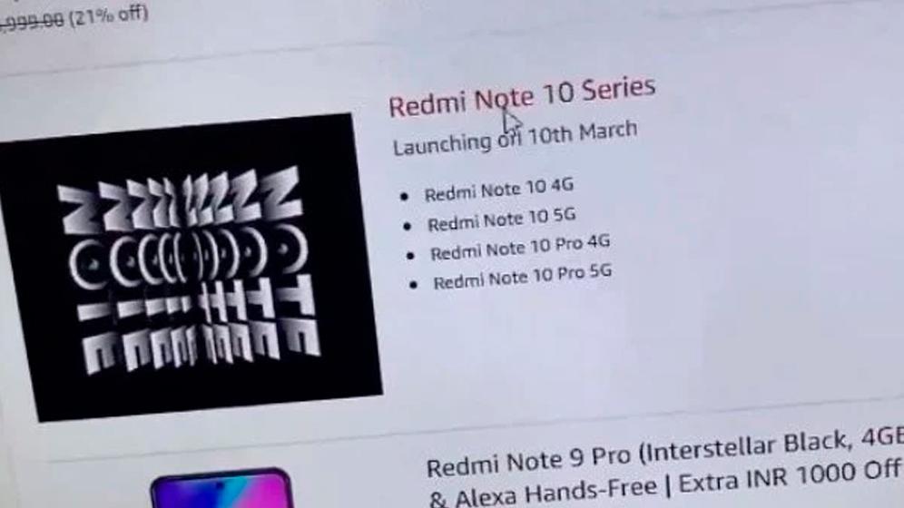 Redmi Note 10 ya tiene fecha de lanzamiento oficial