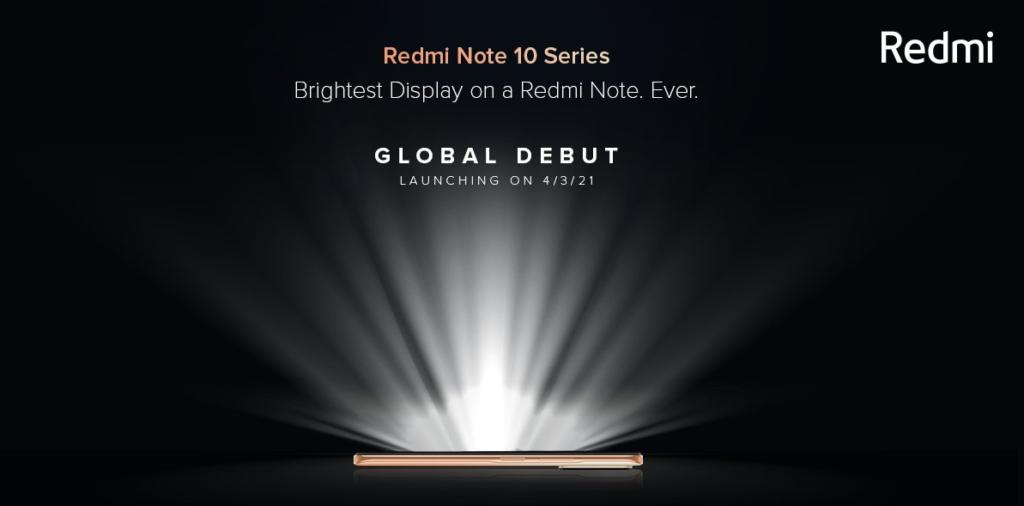 El Redmi Note 10 significará un salto en cuestiones de diseño