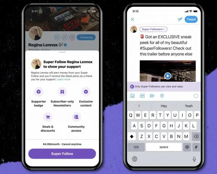 Super Follow: Una opción de pago ya lista para Twitter