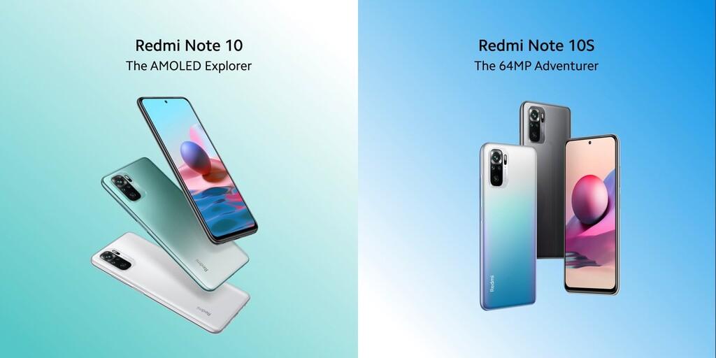 Xiaomi Redmi Note 10 y Note 10S