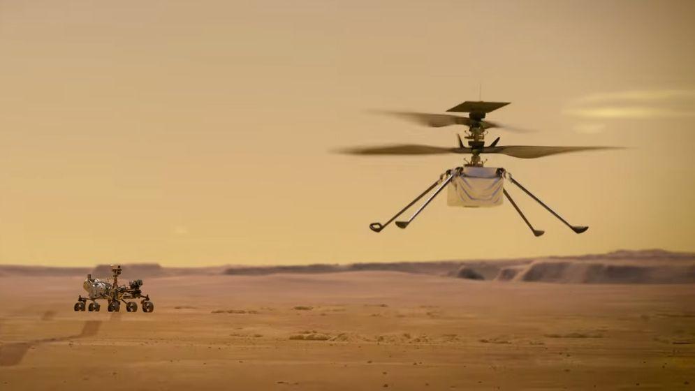 Ingenuity: El helicóptero de la NASA con corazón de Qualcomm