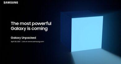 Samsung Galaxy Unpacked abril