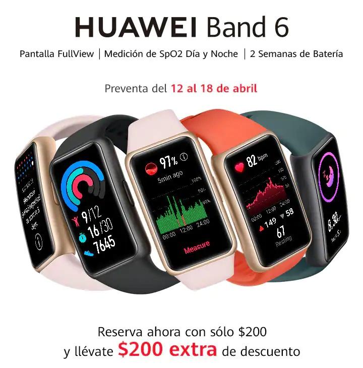 Huawei Band 6 México