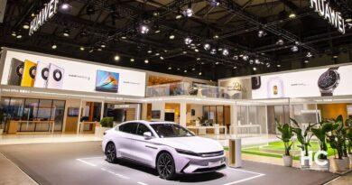 Huawei Arcfox auto eléctrico
