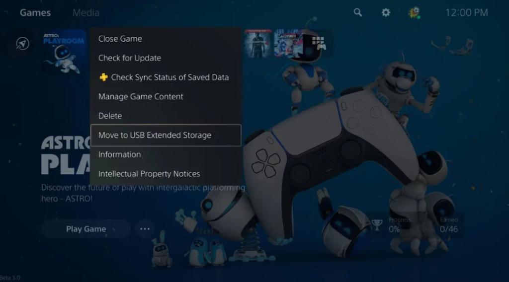La PS5 permitirá transferir tus juegos a una memoria USB