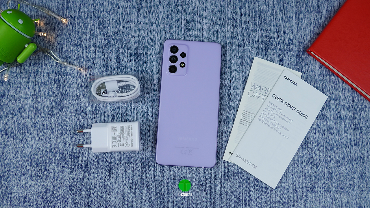 Unboxing Galaxy A52
