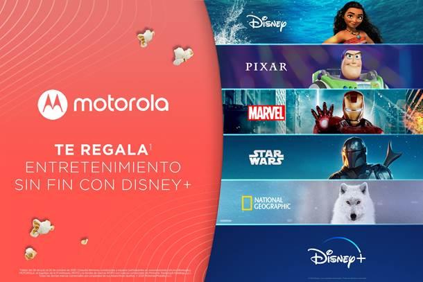Motorola Disney+