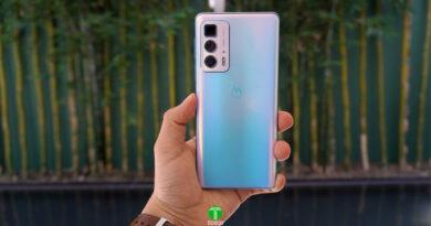 Fotografía Motorola Edge 20 Pro